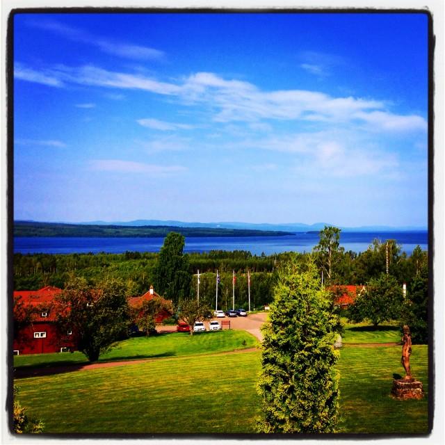 """leksand sky in sweden"" stock image"