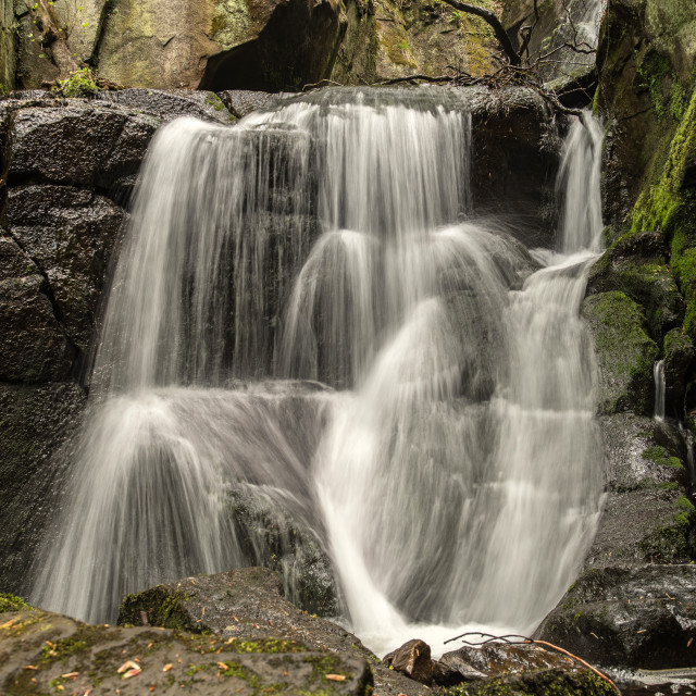 """Water Fall Brook"" stock image"