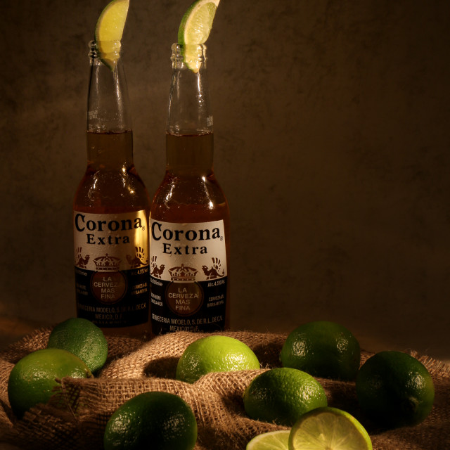 """Corona Extra"" stock image"
