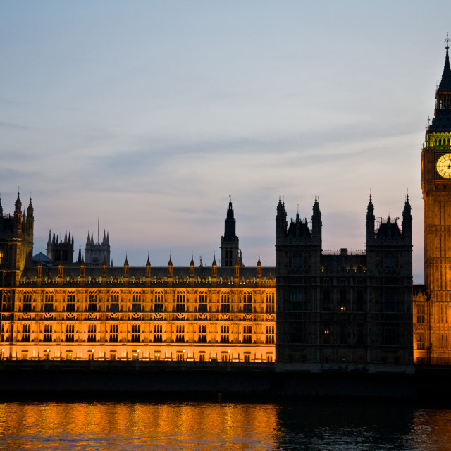 """""""Big Ben & Westminster"""" stock image"""