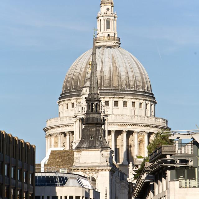 """London, St Paul's"" stock image"