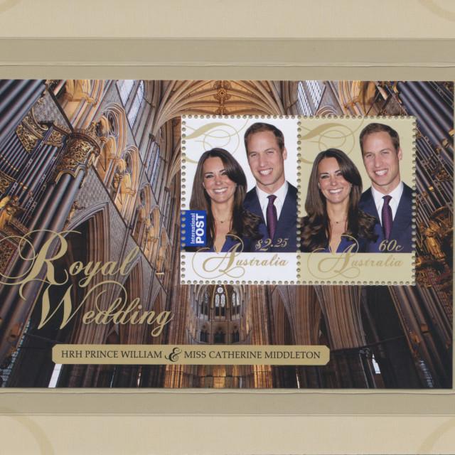 """""""The Royal Wedding"""" stock image"""