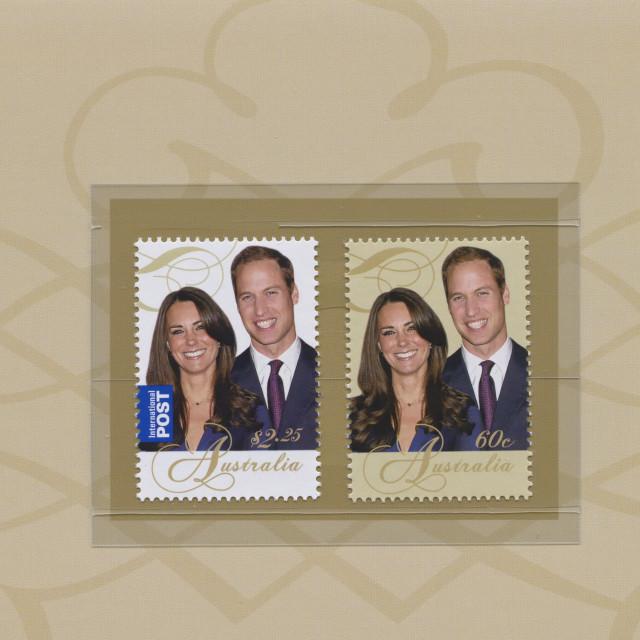"""Prince William & Catherine Middleton"" stock image"