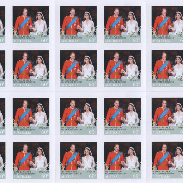 """Royal Wedding"" stock image"