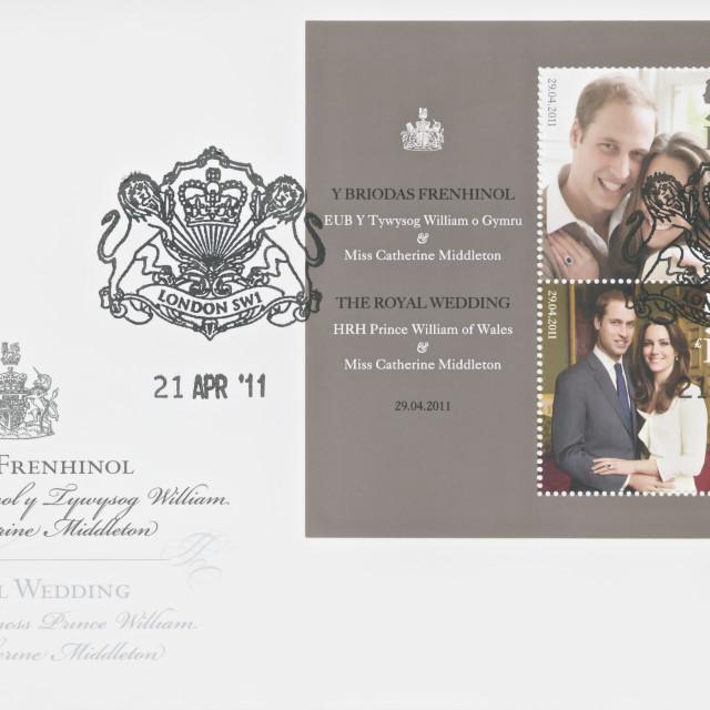 """Prince William and Catherine Middleton Royal Wedding"" stock image"