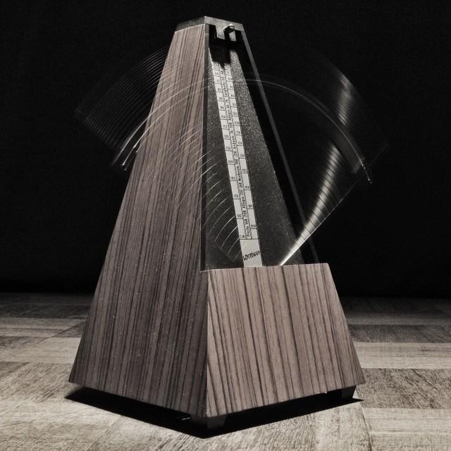 """Metronome"" stock image"