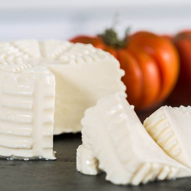 """Fresh cheese"" stock image"