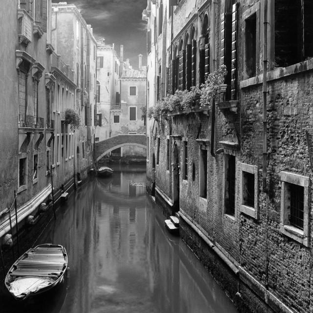 """""""Rio del Paradiso, Venice"""" stock image"""