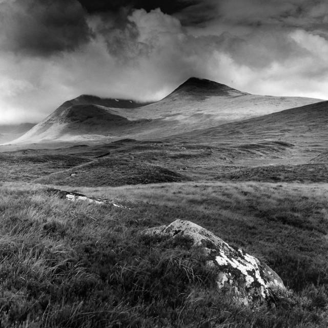 """""""Rannoch Moor, Scotland"""" stock image"""