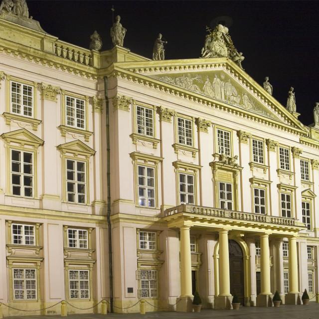 """Primates Palace, Bratislava"" stock image"