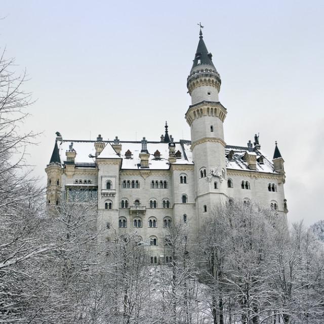 """Fussen Schloss Neuschwanstein"" stock image"
