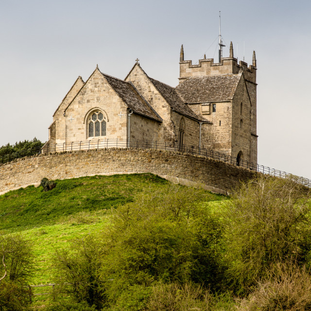 """St. Bartholomew's, Churchdown"" stock image"