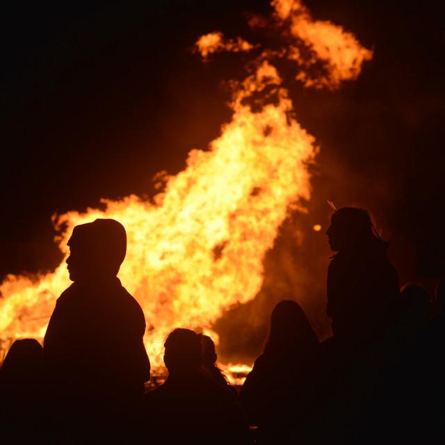 """Bonfire Night"" stock image"