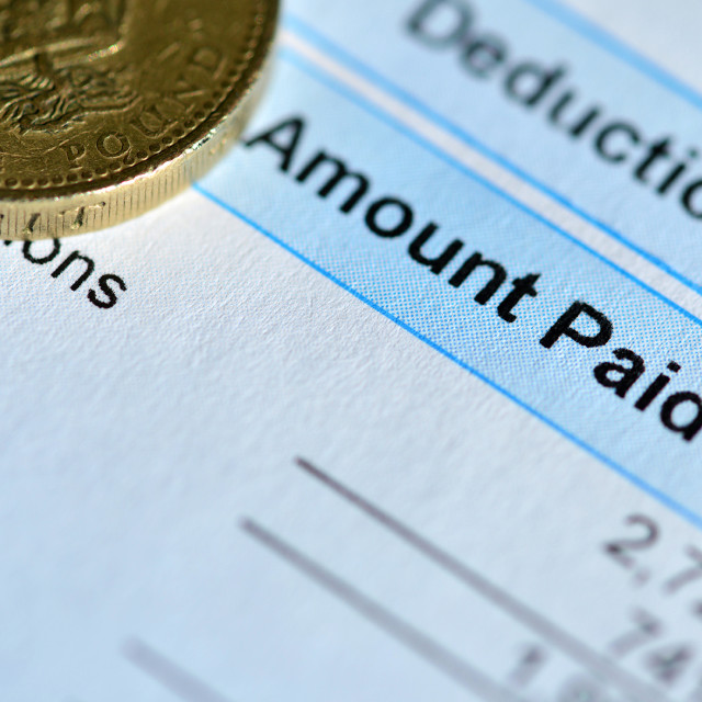 """""""Pay Day"""" stock image"""