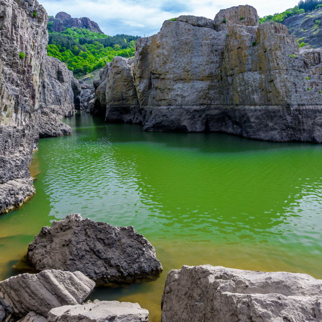 """""""The Devil's Canyon"""" stock image"""