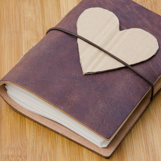 """""""The Journal Of Love"""" stock image"""