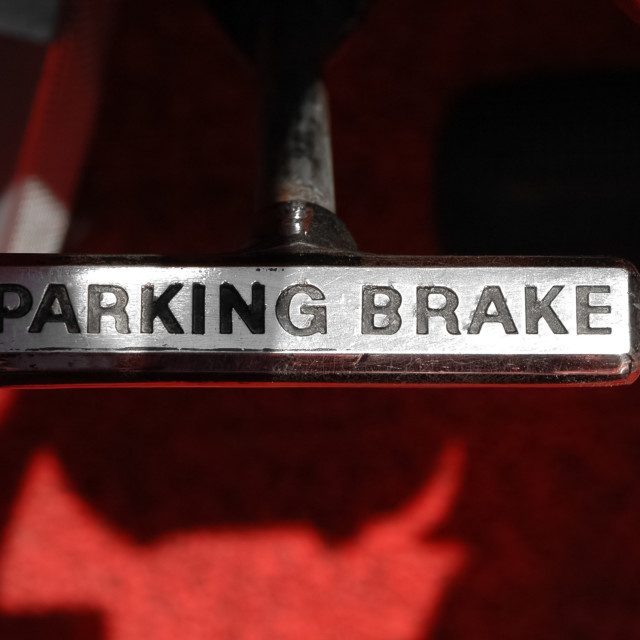 """parking brake"" stock image"