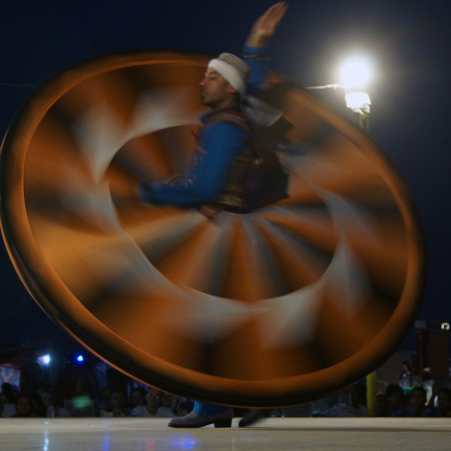 """Whirling Dervish"" stock image"