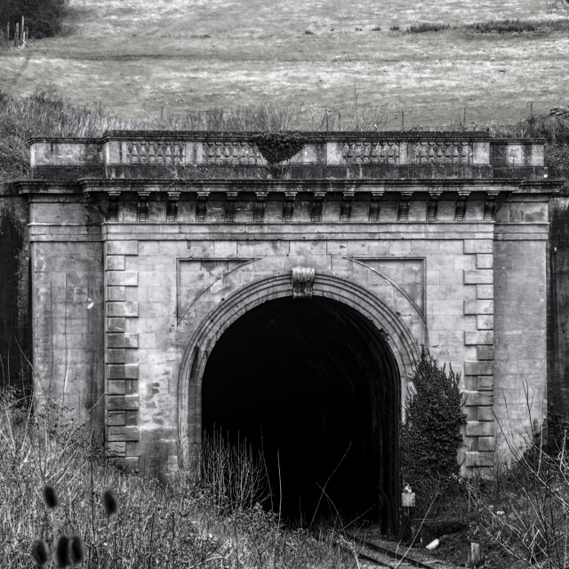 """Box Tunnel Wiltshire"" stock image"