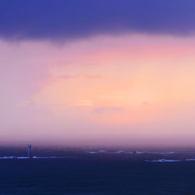"""Storm over Hanois"" stock image"