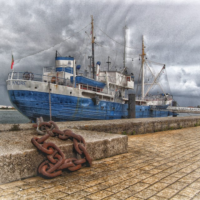 """""""Navio Museu Marítimo"""" stock image"""