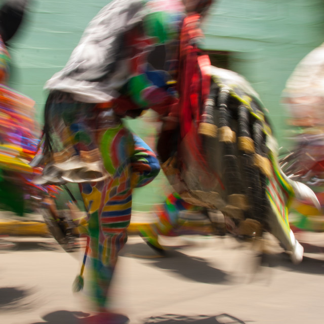 """Devils of Naiguata dance"" stock image"