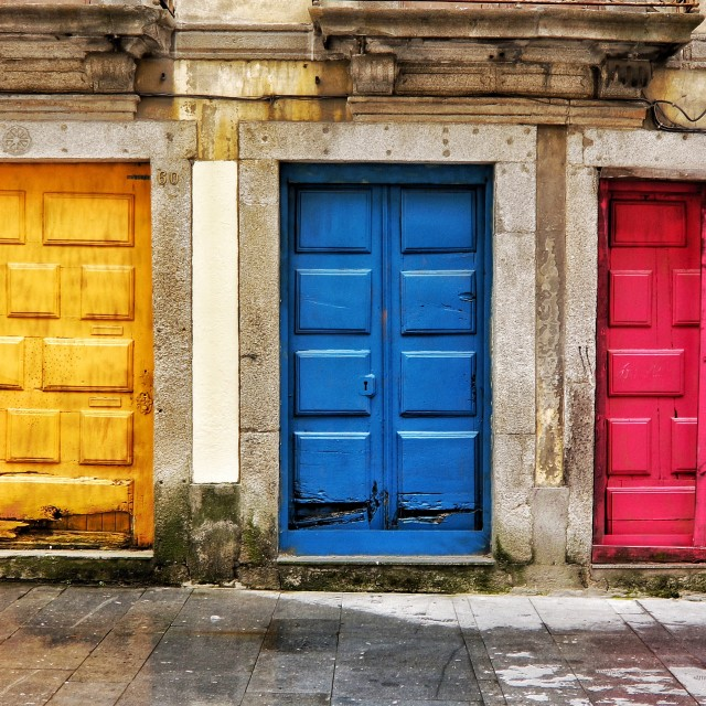 """Doors"" stock image"