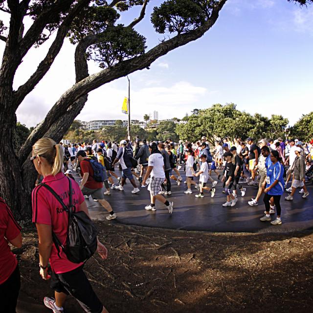 """Fun Walk and Run Auckland"" stock image"