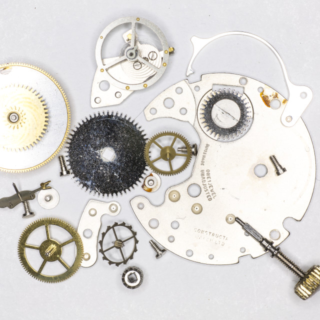 """Wristwatch Parts"" stock image"