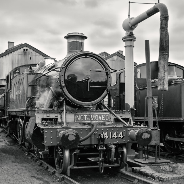 """GWR No.4144"" stock image"