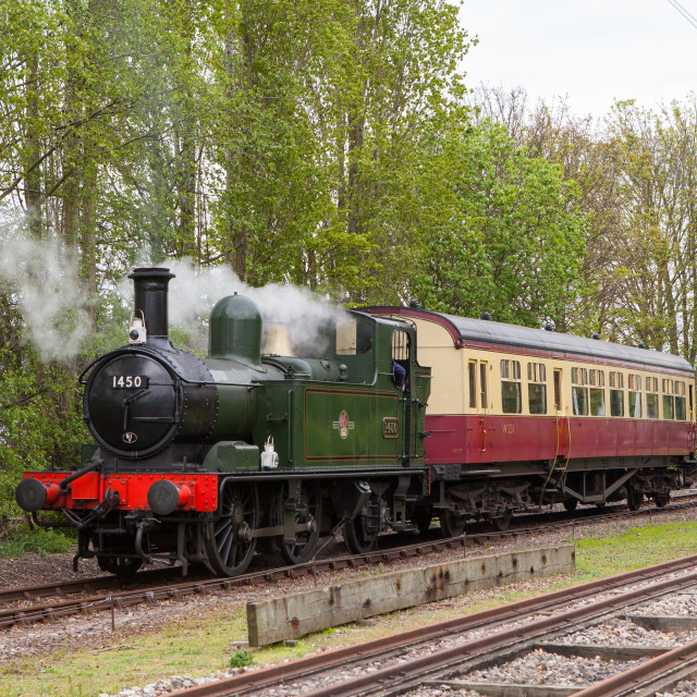 """GWR 1450"" stock image"