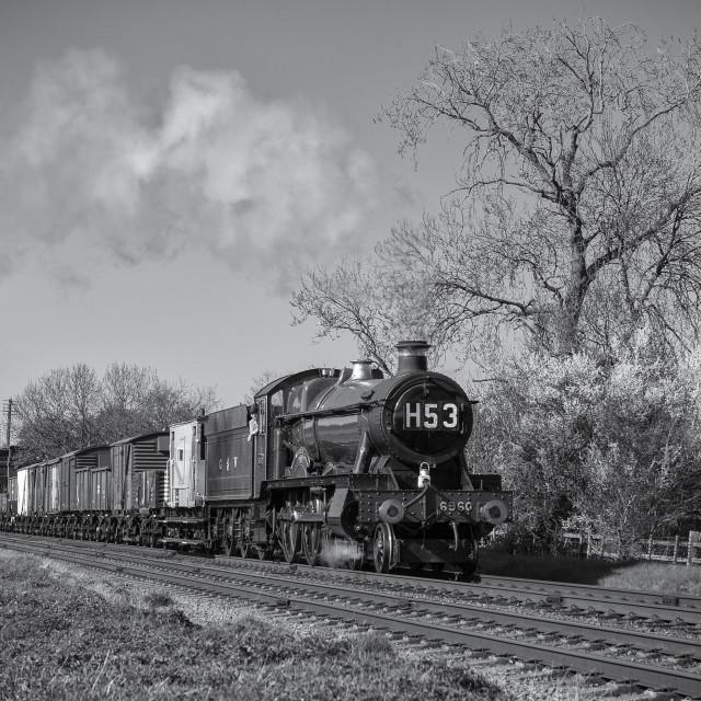 """GWR No.6960"" stock image"