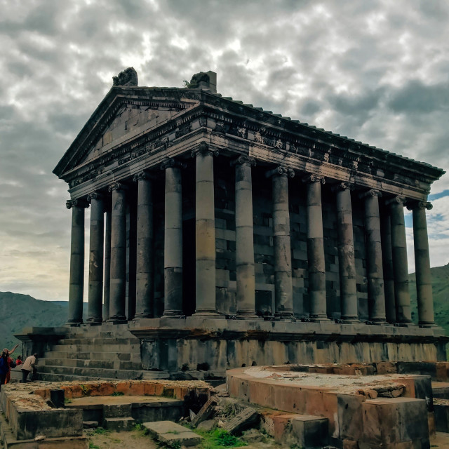 """The Temple of Mithra"" stock image"