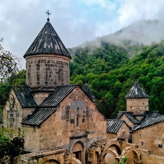 """The Haghartsin Monastery"" stock image"