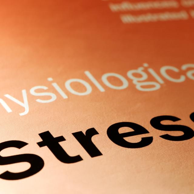 """stress"" stock image"