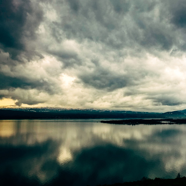 """The Lake Sevan"" stock image"