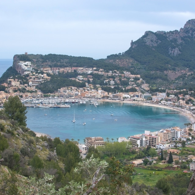 """Soller landscape scenery"" stock image"