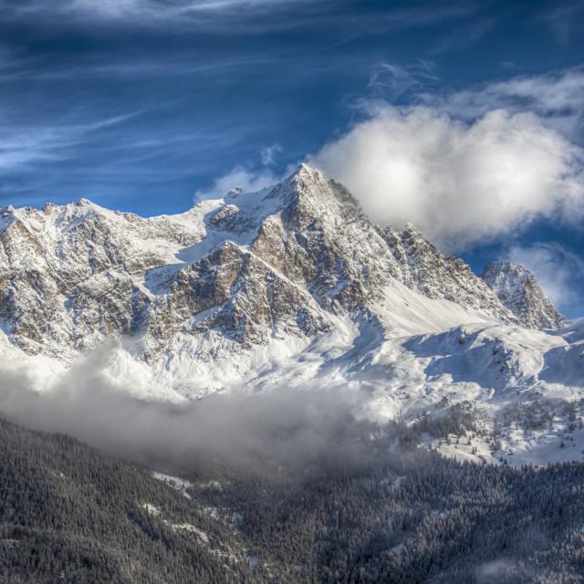"""Swiss Mountain"" stock image"
