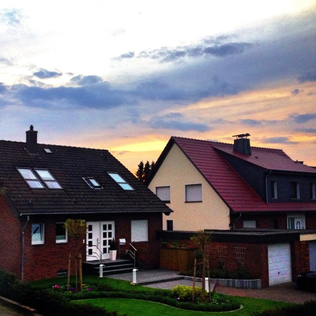 """""""Houses in Germany"""" stock image"""