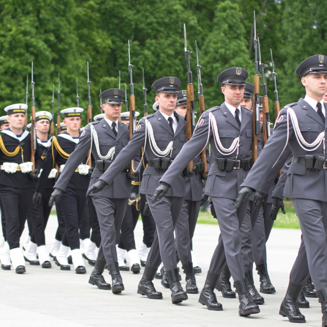 """Military parade"" stock image"