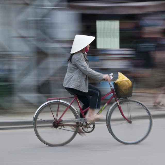 """Ho Chi Minh City Traffic"" stock image"