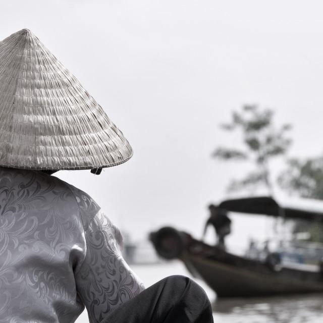 """Mekong Delta Cruise"" stock image"