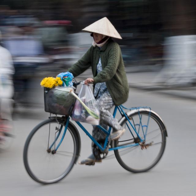 """Ho Chi Minh City Commute"" stock image"