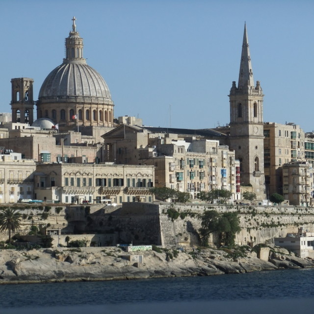 """""""Malta. Valletta."""" stock image"""