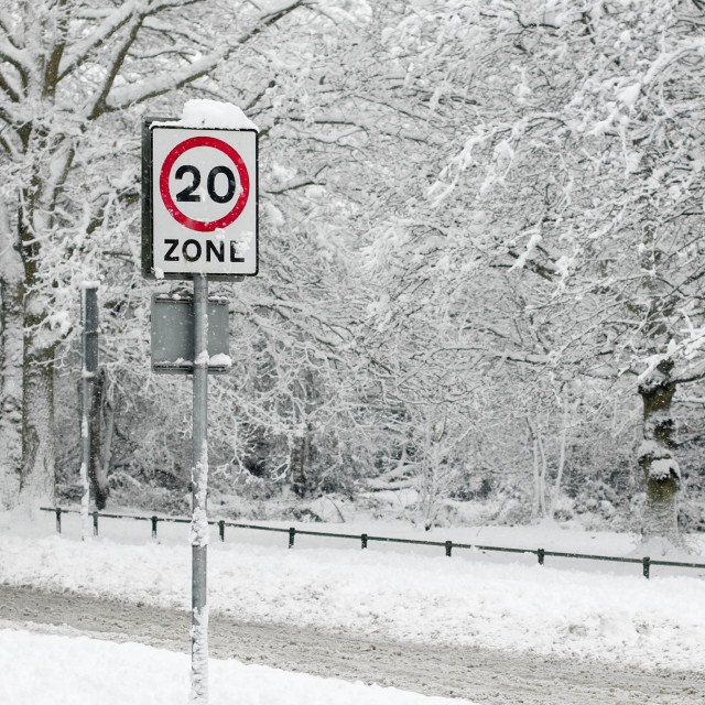 """snow zone"" stock image"