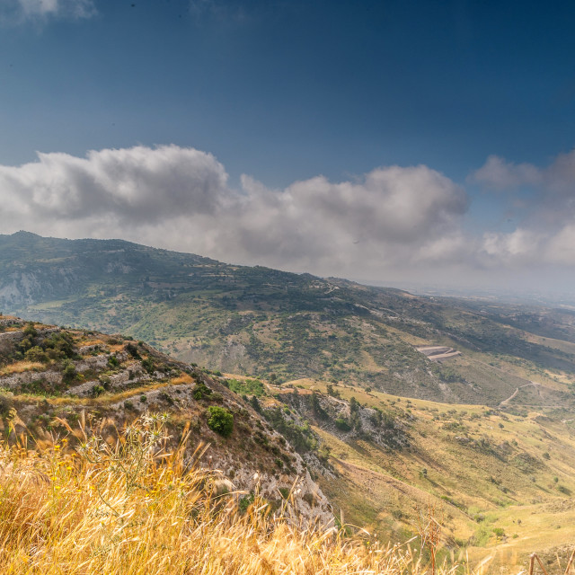 """""""Over the Troodos"""" stock image"""