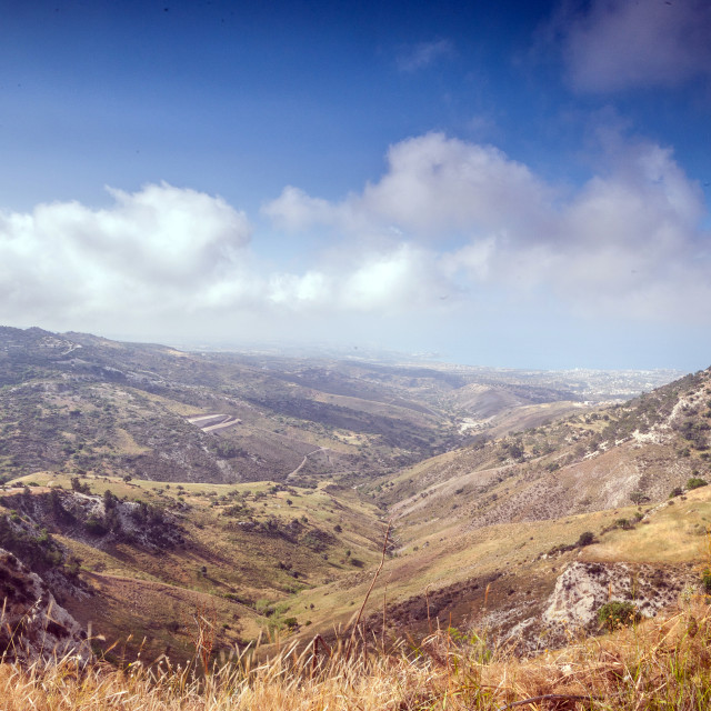 """""""Troodos View"""" stock image"""