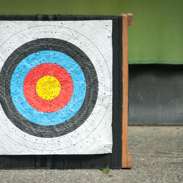 """archery target"" stock image"