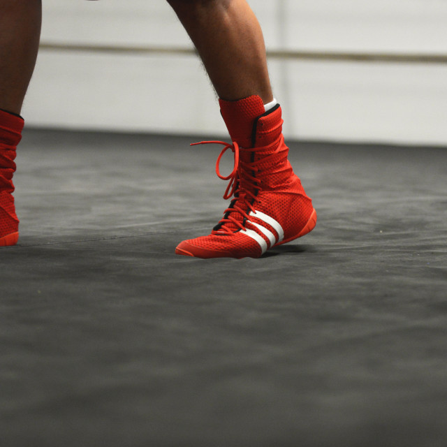 """Adidas Boxing"" stock image"