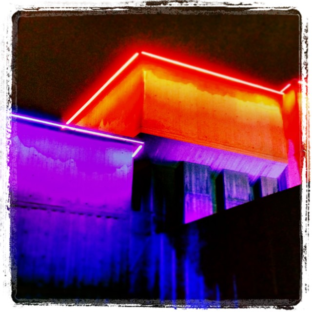 """Festival Hall Colour"" stock image"